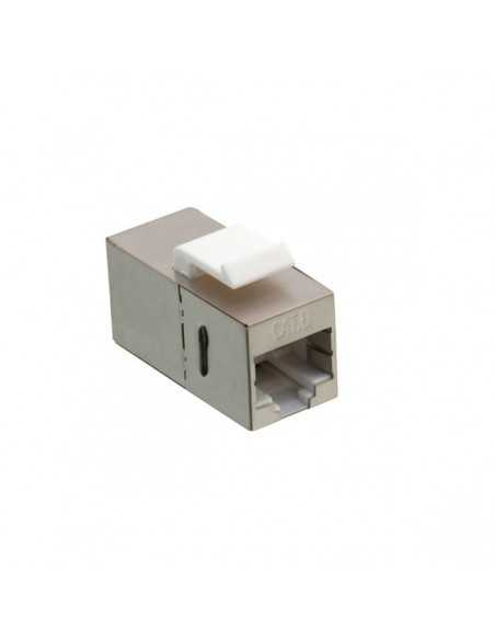 Conector RJ45 Doble Hembra CAT6 STP PATCHPANEL