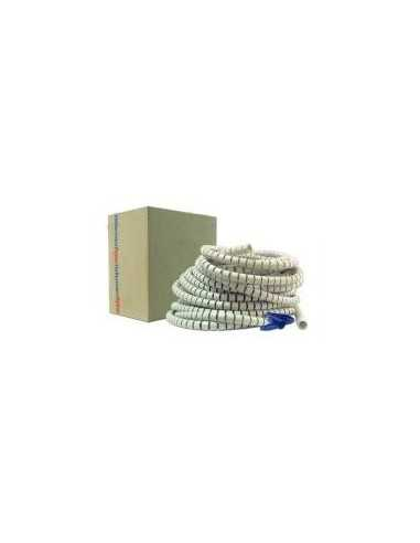 Cubrecables de 25mm. Rollo de 25 metros. Color Beige