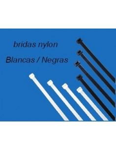 Brida nylon 200x2,6 mm. Bolsa 500 und.