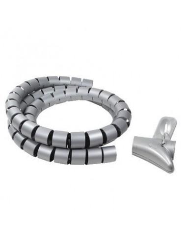 Tubo flexible espiral de Longitud 1,5 mts. GRIS