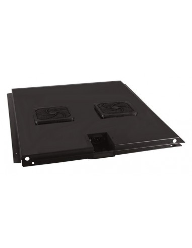 Unidad ventilación de techo 2 ventiladores rack fondo 600mm