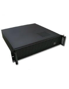 """Caja CPU fomato rack 19"""" 2U tipo ATX, color negro"""