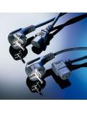 CABLE ALIMENTACION 3mts IEC-SCHUKO NEGRO