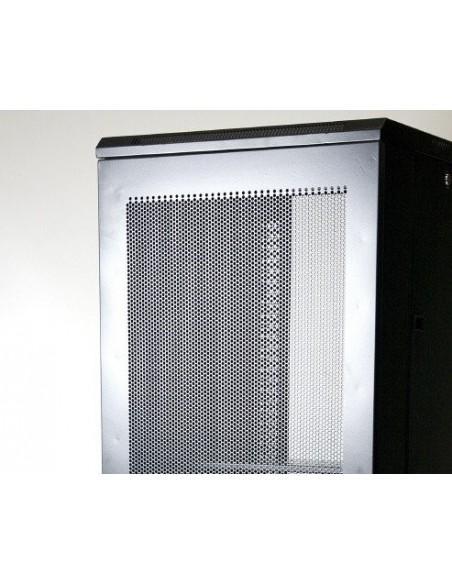 "Rack 19"" 22U 600X600 Pta metálica. SIN accesorios"