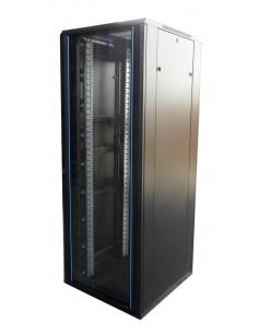 """Rack 19"""" 42U 800X800 Pta cristal. SIN accesorios"""