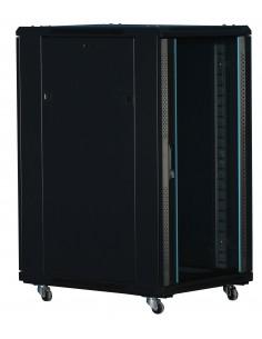"""Rack 19"""" 22U 600X1000 Pta cristal. SIN accesorios"""