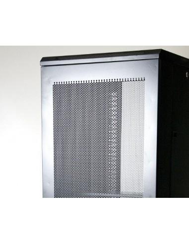 "Rack 19"" 42U 600X1000 Pta metalica. SIN accesorios"