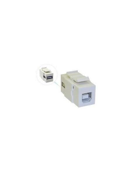 ADAPTADOR KEYSTONE DE USB-B a USB-A H/H