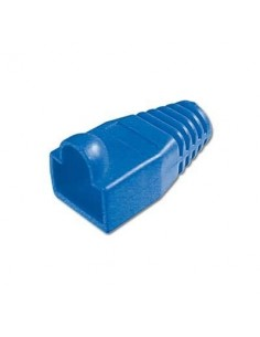 Protector conector macho rj45 (Bolsa 10 und) Color azul