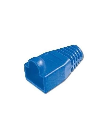 Protector para conector macho rj45 (Bolsa 10 und) Color azul