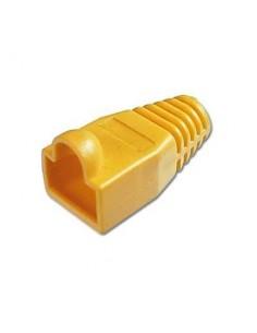 Protector para conector macho rj45 (Bolsa 10 und) Color amarillo