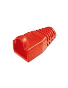 Protector conector macho rj45 (Bolsa 100 und) Color rojo