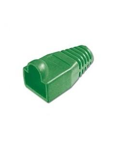 Protector conector macho rj45 (Bolsa 100 und) Color Verde