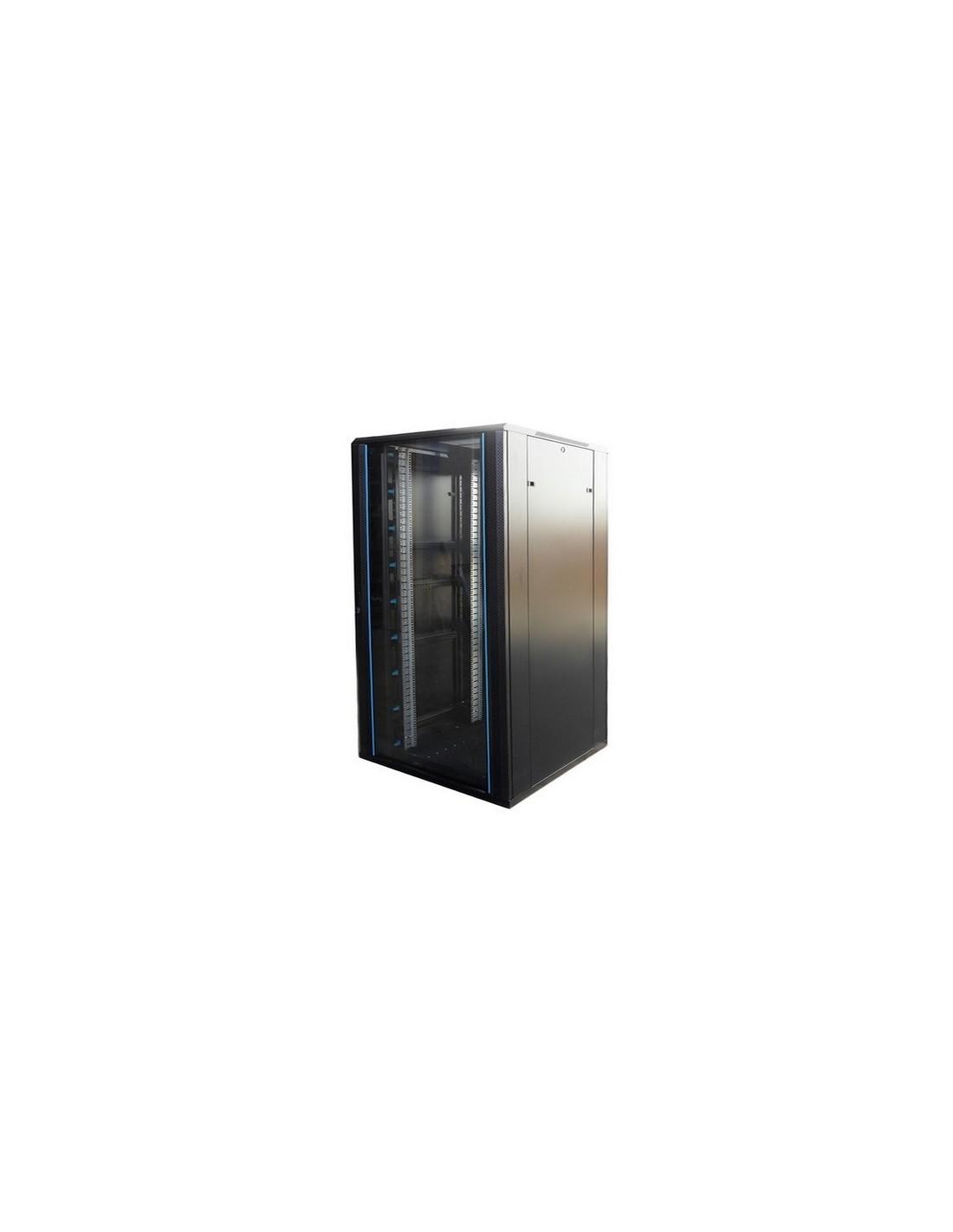 Rack 19 Quot 22u 800x800 Mm Puerta De Cristal Con Llave Venta