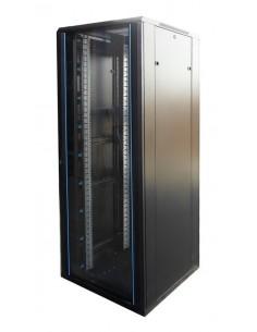 """Rack 19"""" 42U 800X1000 Pta cristal. SIN accesorios"""