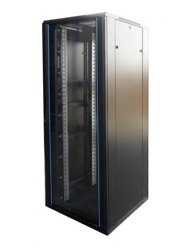 """Rack 19"""" 42U 800X1000 Pta cristal. SIN accesorios especialistas en venta rack online"""