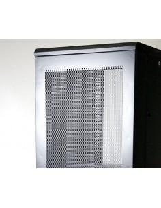 "Rack 19"" 42U 800X1000 Pta metalica. SIN accesorios"