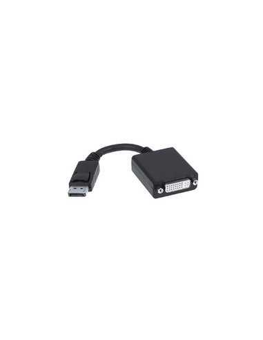 CONVERSOR DISPLAYPORT A DVI SINGLE LINK, DP/M-DVI/H, NEGRO, 15 CM