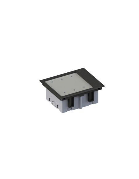 Caja de empotrar en suelo 92-128 mm de 3 elementos.