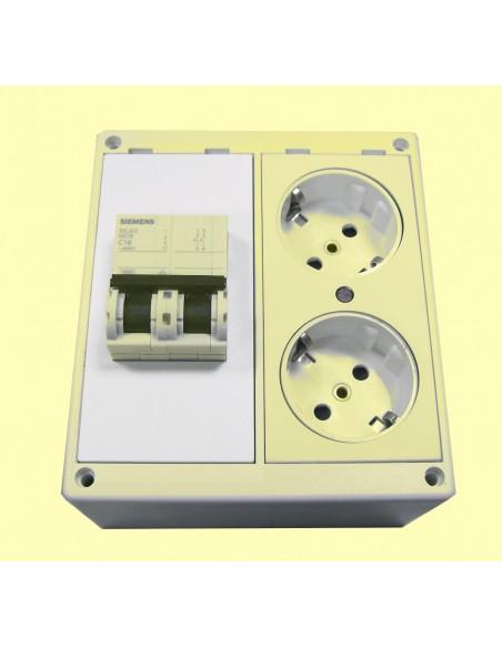 placa magnetotermico demo montaje