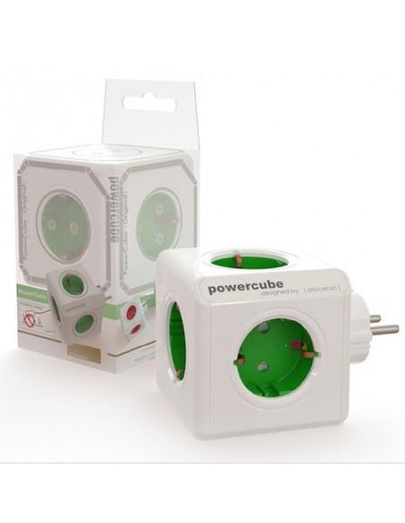 PowerCube verde 5 conexiones a 230V