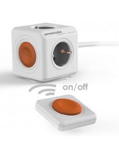 PowerCube Remote. 1,5 m + mando a distancia. 3 conexiones