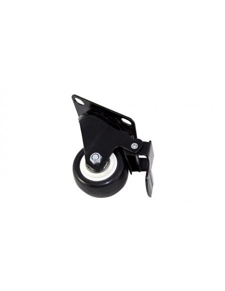 rueda con freno rack suelo