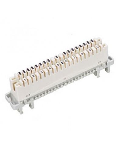 Regleta de conexion 10 pares de corte y prueba - Regleta para cables ...
