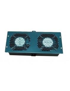Unidad Ventilación Techo 2 ventiladores universal para rack Klives
