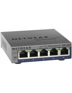 Switch 5 puertos autosensing 10/100/1000 netgear