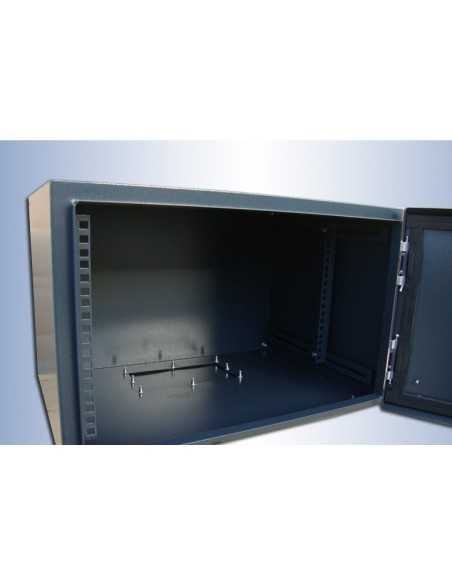 Rack mural IP54 12U F-400MM detalle interior