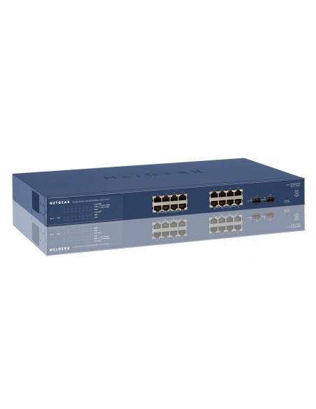 switch de 16 puertos Gigabit con 2 puertos SFP gestionable