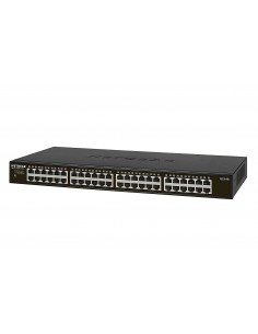 Switch 48 puertos, Gigabit, Ethernet, no gestionable, montaje en rack