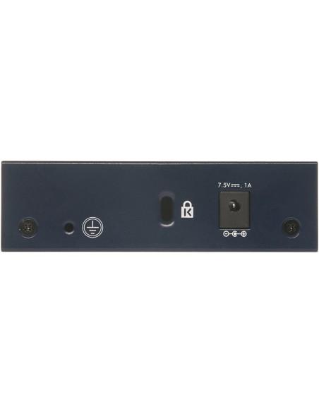 Switch 5 puertos 10/100/1000 caja metálica