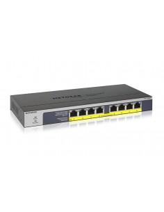 Switch 8 puertos Gigabit Eternet PoE+ no gestionable