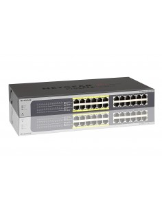 "Switch 19"" 24 puertos Gigabit PoE Gestion web netgear"