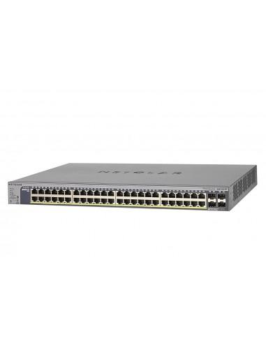 Switch de 48 puertos Ethernet Gigabit PoE + 4 puertos SFP