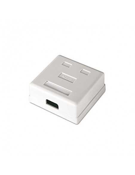 0884.RS6F2T - ROSETA DE SUPERFICIE PARA RJ45 CAT.6 FTP 2 TOMAS