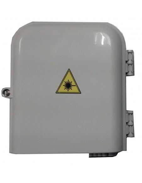 Caja fibra óptica IP65 para 8 SC Simplex