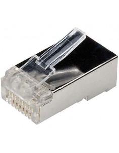 Conector RJ45 8 Hilos CAT.6 FTP (Bolsa 100 UNDS)