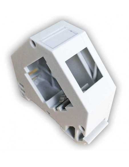 Modulo Carril DIN 1 conector RJ45 CERRADO
