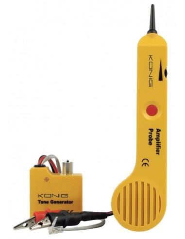 Generador de tonos con sonda amplificadora