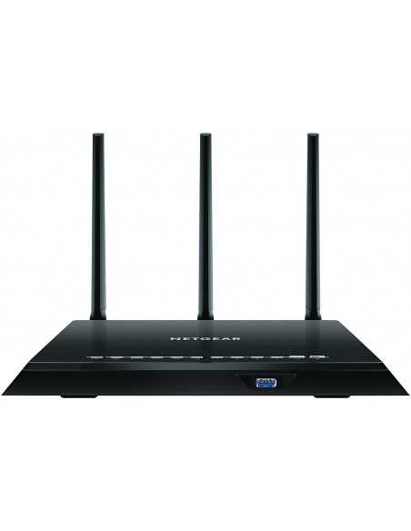 Router Gaming WiFi Gigabit 11ac Doble banda, 600 Mbps + 1300 Mbps, Beamforming+, tecnología QoS