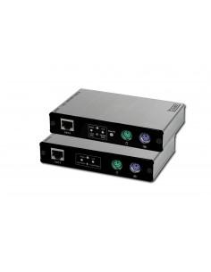 Extensor PS/2, 1 usuario local + 1 remoto HASTA 180 m (Cat5e)