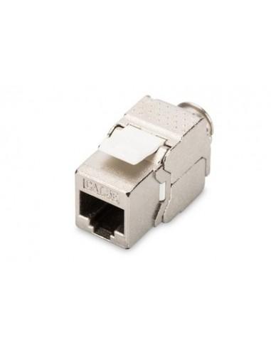 Conector RJ45 Hembra CAT5E FTP 180º free