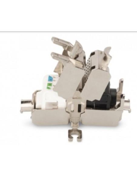 Conector RJ45 H/H CAT6A FTP 500Mzh