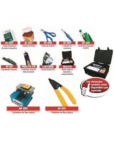 Kit de conectorización fibra óptica
