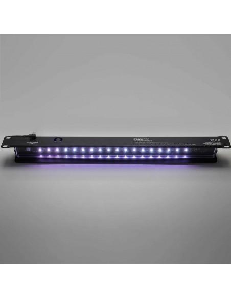 Panel rack LED blanco iluminación profesional 1U