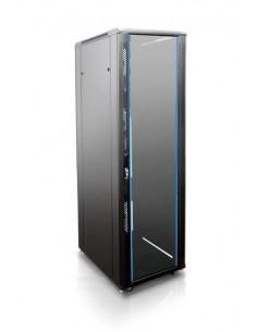"""Rack 19"""" 42U 600X1000 Pta cristal. SIN accesorios"""