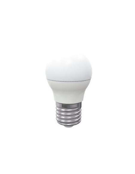 Bombilla Esférica LED G45 E27 alta eficiencia energética y vida útil de larga duración 4000k.